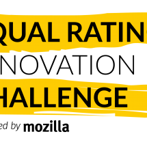 Mozilla Launches Equal Rating Innovation Challenge