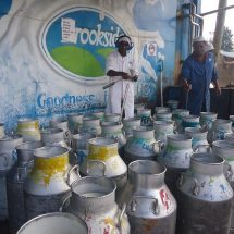 Meru donates Sh3.7m milk cans to cooperatives