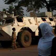 20,000 stranded at UN base in Central African Republic