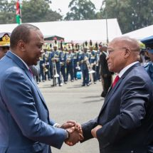 Zuma docks in Kenya for 3-day visit