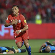 Sanchez double as Chile thrash Uruguay