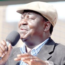 Raila wants government to stop building controversial water projects