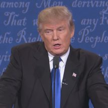 Trump says Clinton will remain to be guilty