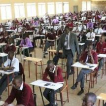Drama as a KCSE Candidate collapses in exam room in Murang'a County