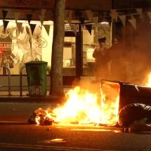 Protests flare in OakLand after Trump's election
