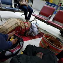 Travelers stranded for hours following Sunday's plane mishap