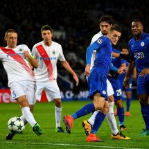 Champions league 'freshers', Leicester, enter knockout stage