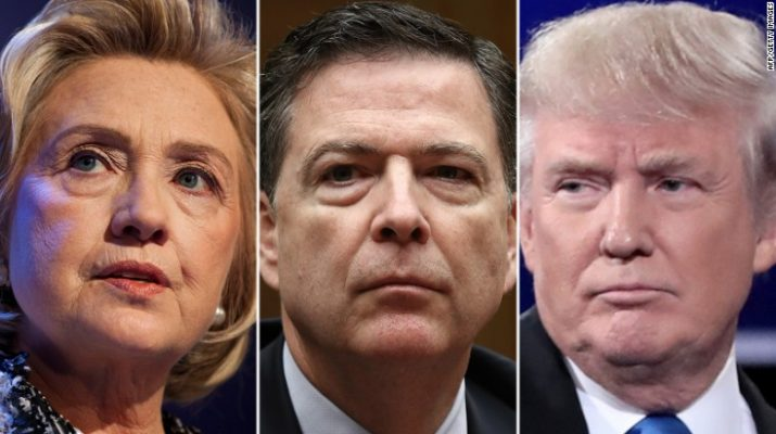 The FBI keeps showing up in this election