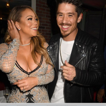 46 year old Mariah Carey takes rumored 33-year-old lover for dinner treat