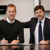 Harry Kane signs new Tottenham contract until 2022