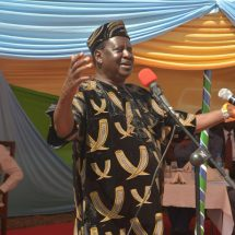Raila faults deployment of GSU officers at parliament building