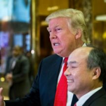 SoftBank shares soared after Trump announce partnership with US