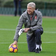 God made world in seven days, this is our seventh day ~ Wenger says
