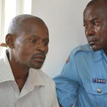 Philip Tito,the driver who ran over ex-Kitui mayor detained