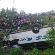 At least 3 dead, over 21 injured in road accident at Mazera