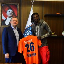 Done deal: Emmanuel Adebayor join Turkish side Istanbul Basaksehir
