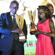 Cheruiyot named 2016 Sports Personality of the year during Soya Awards