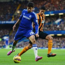 Diego Costa makes it 15 as Chelsea extend lead to 8 points