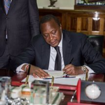 President Uhuru Kenyatta assents controversial election bill to law