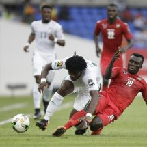 Dr Congo beats Morocco 1-0, as defending champs are held by Togo