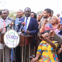 No dead person should vote ,Raila urges