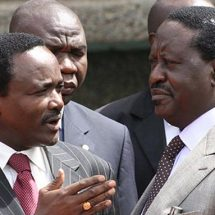Kalonzo Musyoka surrenders his presidential ambitions