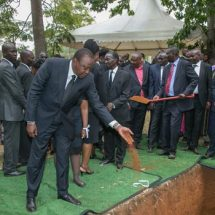 Uhuru  recollects Mark Too's role in his presidency