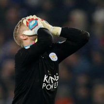Every Leicester player should stand and bee counted, Kasper Schmeichel