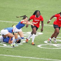 Kenyan girls for Cup qualifiers