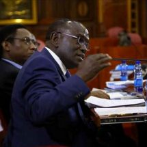 Either doctors out or you resign, Cleopa Mailu told by Senate