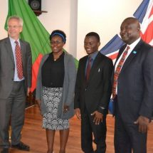 Zambian wins the Queen's Young Leaders Award