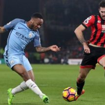 City strike AFCB twice, move to second place eight points behind Chelsea