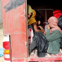 13 dead migrants found in shipping container in Libya