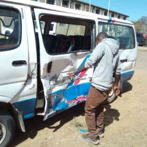 Boda boda rider killed, two pupils injured in Maralal accident