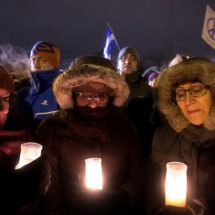 Dozens mourn victims of Quebec mosque attack