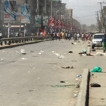 Hawkers, mall owners clash in Eastleigh
