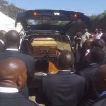 Relatives, leaders and mourners attend Nderitu Gachagua farewell