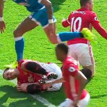 Manchester United star and Bournemouth defender have until 1800GMT to respond to charges