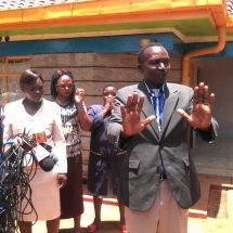 Pastor camps at funeral home in Embu county waiting for the resurrection of his wife