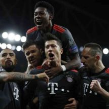 Bayern confirm 5-1 score at emirates as Arsenal wave bye to Champions League train
