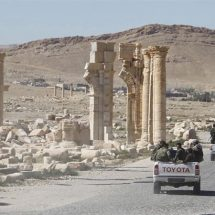 Russia-backed Syria army retakes ancient city