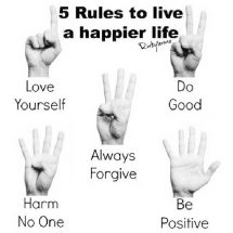 Practical ways to live a happier life today