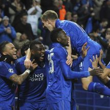 Leicester overturn first leg deficit, reach Champions League quarter finals