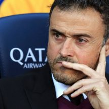 Time up: Barcelona boss Luis Enrique to step down at end of the season