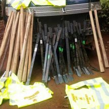 Suspects caught with crude weapons in Gatundu