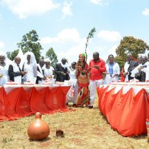Jigger survivors in Murang'a tie the knot in mass ceremony
