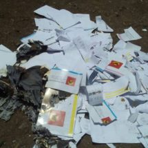 Voters burn ballot papers as Jubilee primaries kick off
