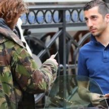 Man United's Henrikh Mkhitaryan gives homeless man a fiver, escapes £60 fine