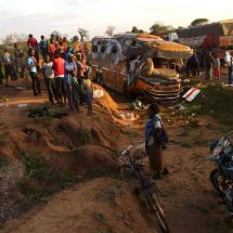 26 confirmed dead after a bus, tanker crash