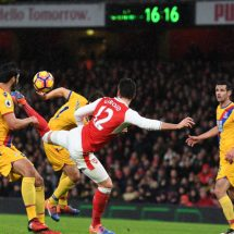 Palace and Arsenal out to covet for 3 points tonight